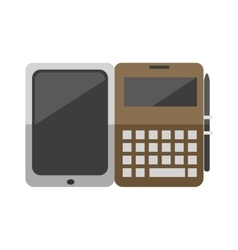 Modern laptop computer vector image vector image