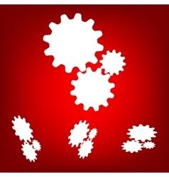 Settings icon vetor set isometric effect vector