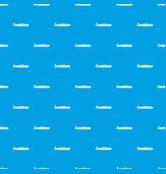 Submarine pattern seamless blue vector
