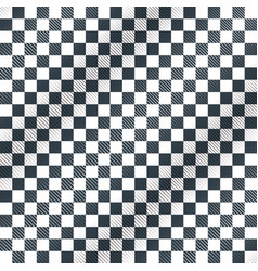 floor checkerboard or finish racing car flag vector image