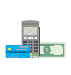 Cashless payments vector