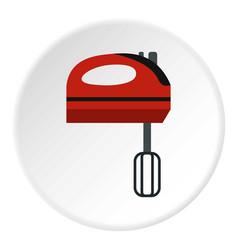 mixer icon circle vector image