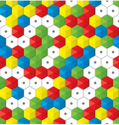 plastic mosaic seamless background vector image vector image