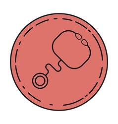Stethoscope icon Logo template of Stethoscope vector image