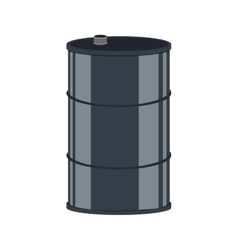 Barrel oil industry petroleum icon vector