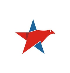 America usa logo icon star vector