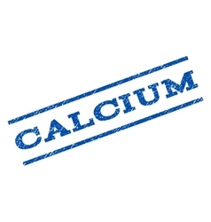 Calcium watermark stamp vector