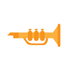 isolated trumpet toy vector image