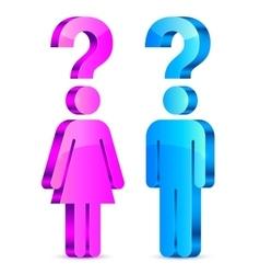 Understand Men and Women Concept vector image