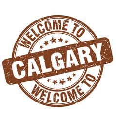 Welcome to calgary vector