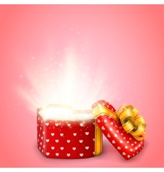 Valentine day gift vector