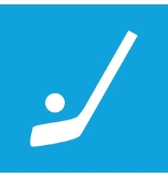 Hockey icon simple vector