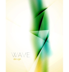 Blur abstract background vector image vector image
