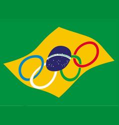 Brazil olympics vector