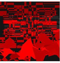 red camouflage background vector image vector image