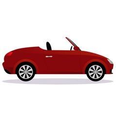 roadster car body type vector image