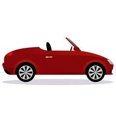 Roadster car body type vector