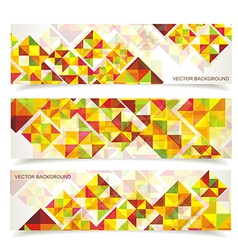 Colorful mosaic pattern design vector