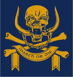 Pirate skull3 vector