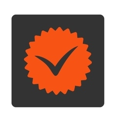 Quality icon from award buttons overcolor set vector