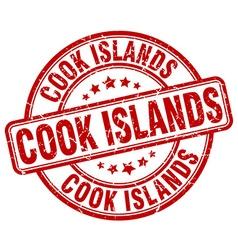 Cook islands stamp vector