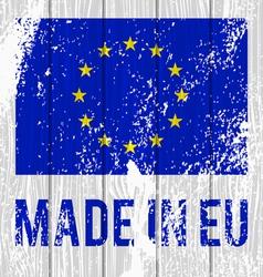 Flag of the european union vector
