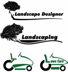 lawn care vector image vector image