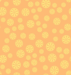 Lemon pattern seamless background vector