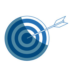 Target strategy goal success business concept vector