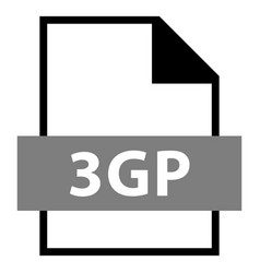 file name extension 3gp type vector image