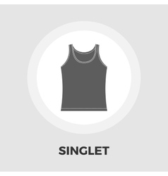 Singlet icon flat vector image