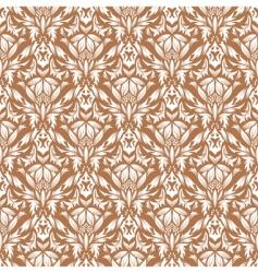 damask pattern vector image vector image