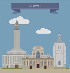 Havre vector image vector image