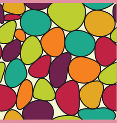 Pebble background vector