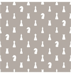 seamless pattern of chess vector image vector image