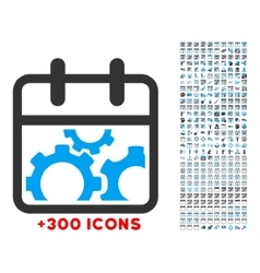 Technical day icon vector