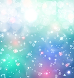 Christmas background snow blured background vector