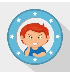 Little kids design vector