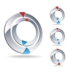 Logo compass vector