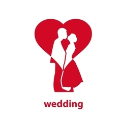 Logo for wedding vector
