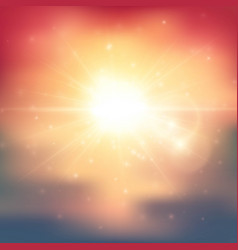 Summer light abstract background vector