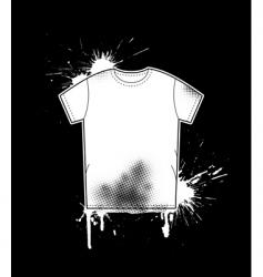 Shirt art template vector