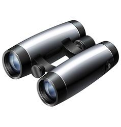 Binocular vector image vector image
