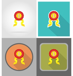 school education flat icons 09 vector image vector image