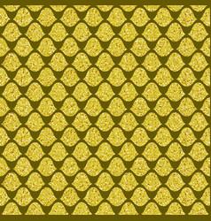 golden squama vector image