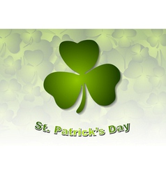 St patricks day green background vector