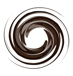 Vortex background coffee vector