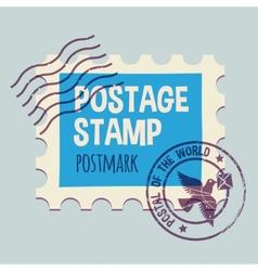 Postmark template vector