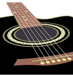 Acoustic guitars vector