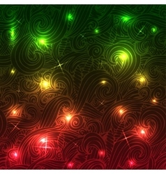 Abstract disco glowing set of background vector